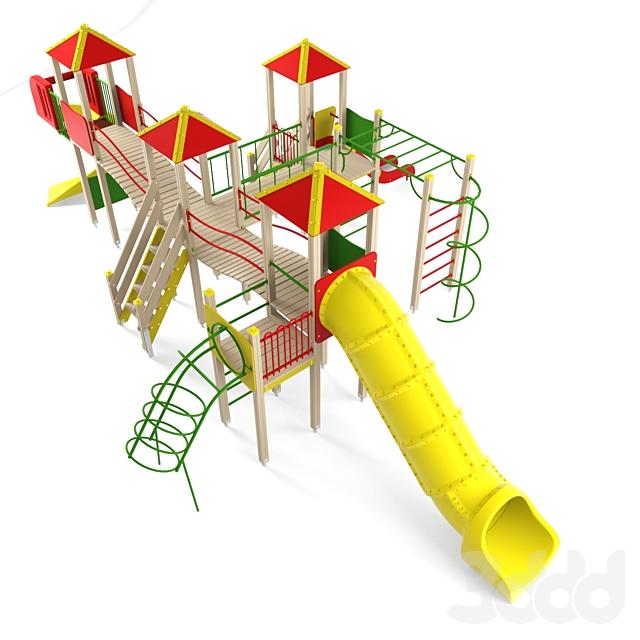 Детский игровой комплекс 13
