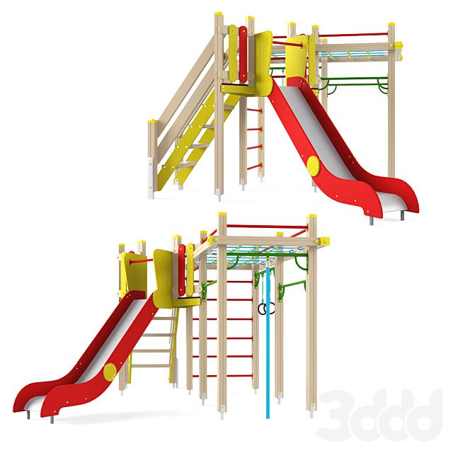 Детский игровой комплекс 19