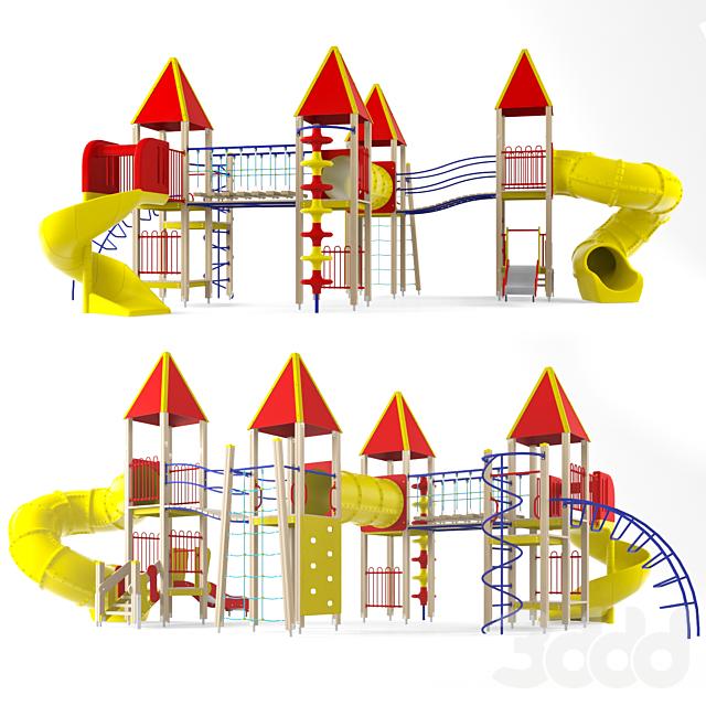 Детский игровой комплекс 22