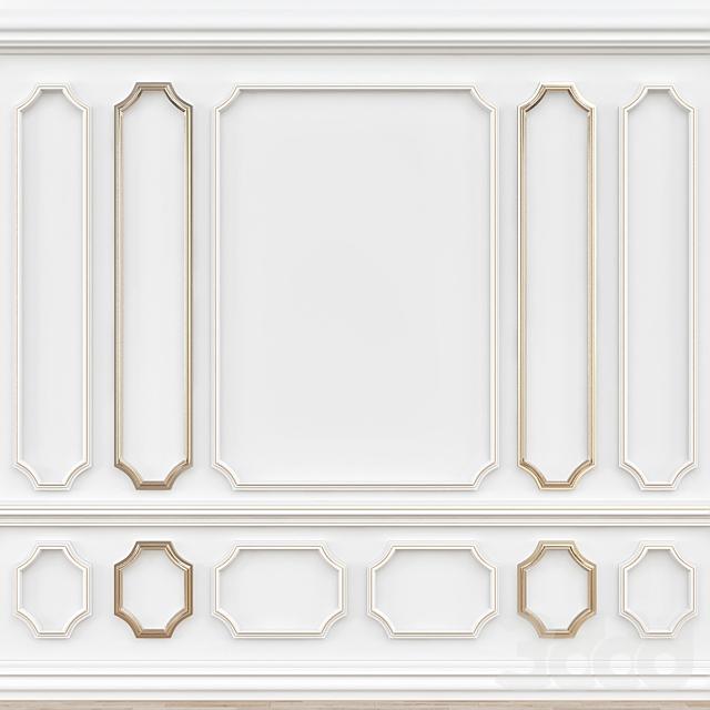 Decorative molding № 001