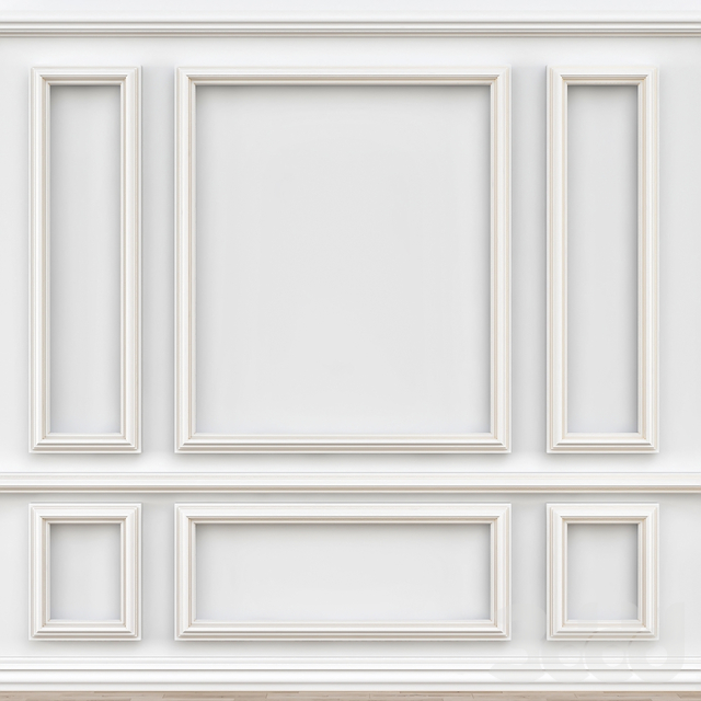 Decorative molding № 002