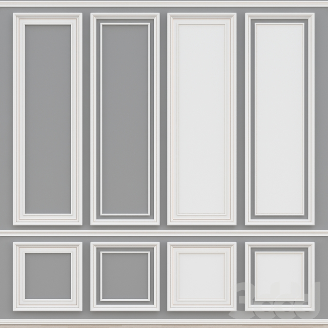 Decorative molding № 008