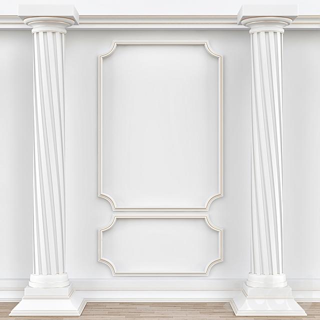 Decorative molding № 004