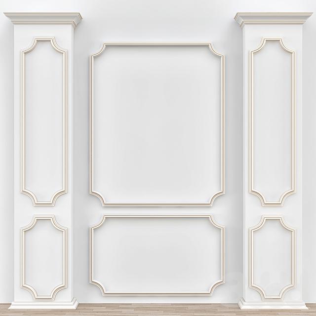 Decorative molding № 005