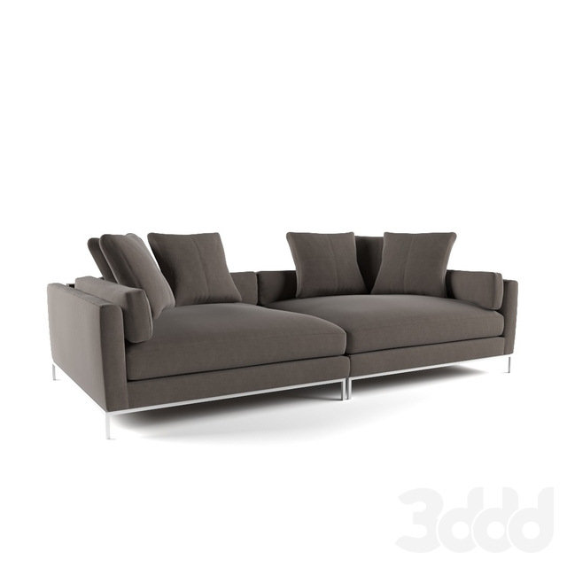 3d модели: Диваны - Ventura Extra Deep Sofa