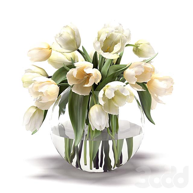 Букет цветов в вазе 29
