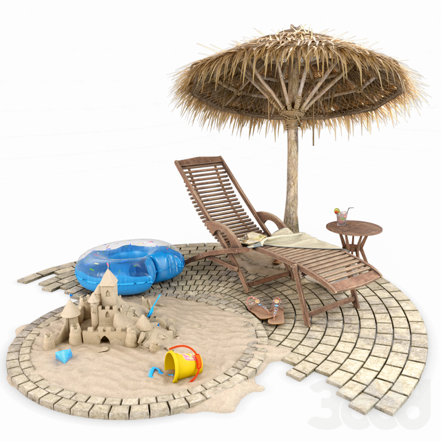 Summer Beach and Pool Set