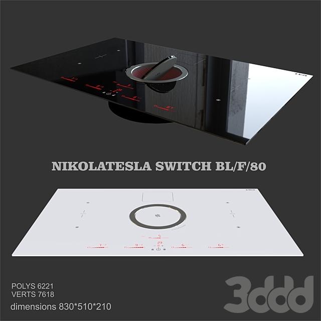 Elica NIKOLATESLA SWITCH BL/F/80
