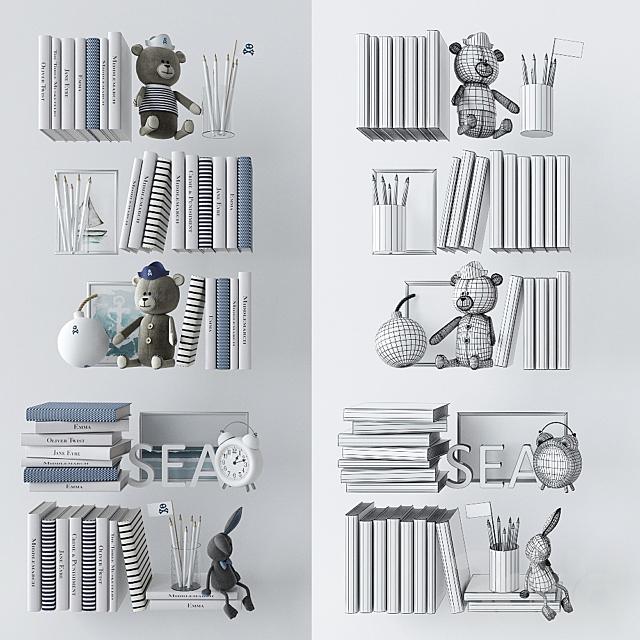 Декоративный набор в детскую 5