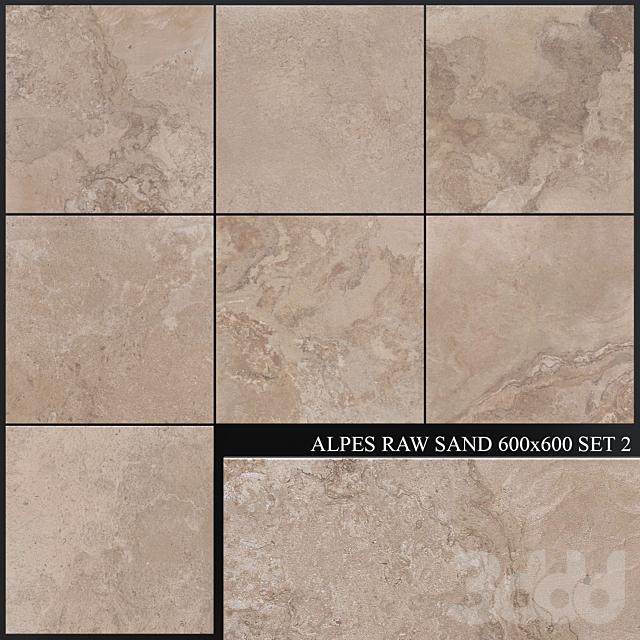 ABK Alpes Raw Sand 600x600 Set 2
