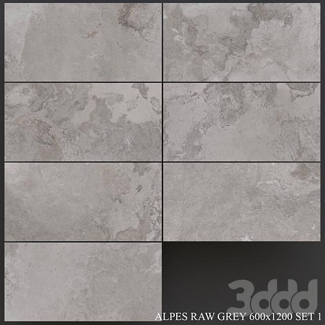 ABK Alpes Raw Grey 600x1200 Set 1