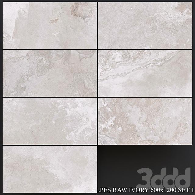 ABK Alpes Raw Ivory 600x1200 Set 1