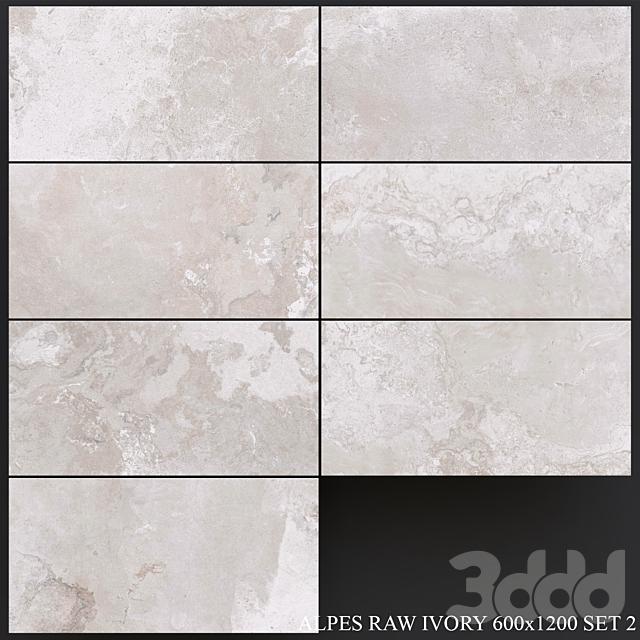 ABK Alpes Raw Ivory 600x1200 Set 2