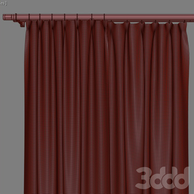 Curtain blue strip