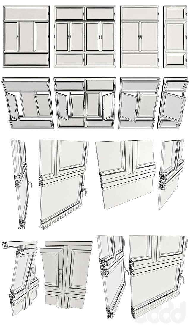 Витражные окна / Stained glass windows