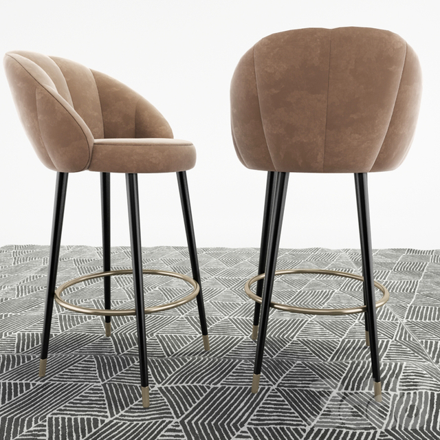 Deep House. Modern Bar stool Ferrara