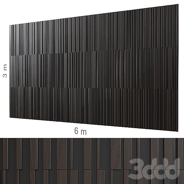 Декоративная стена 168.
