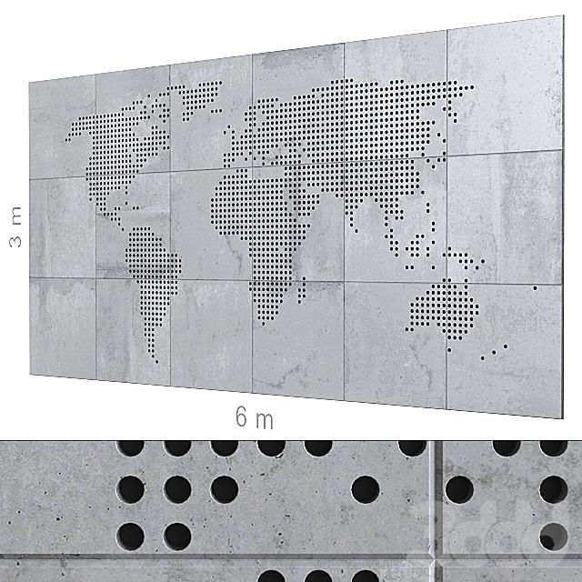 Декоративная стена 170.