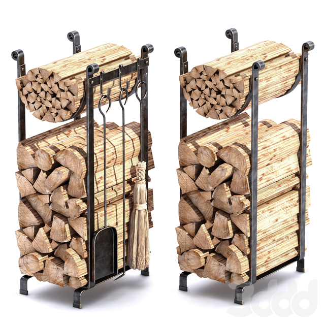 ACCESSORIES ENCLUME HEARTH LOG RACK
