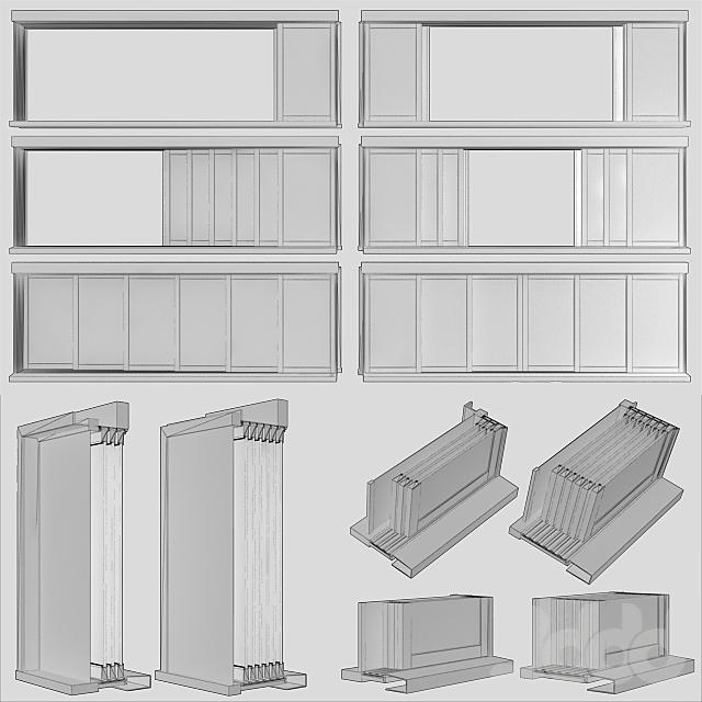 Раздвижные витражные двери / Sliding Stained Glass Doors