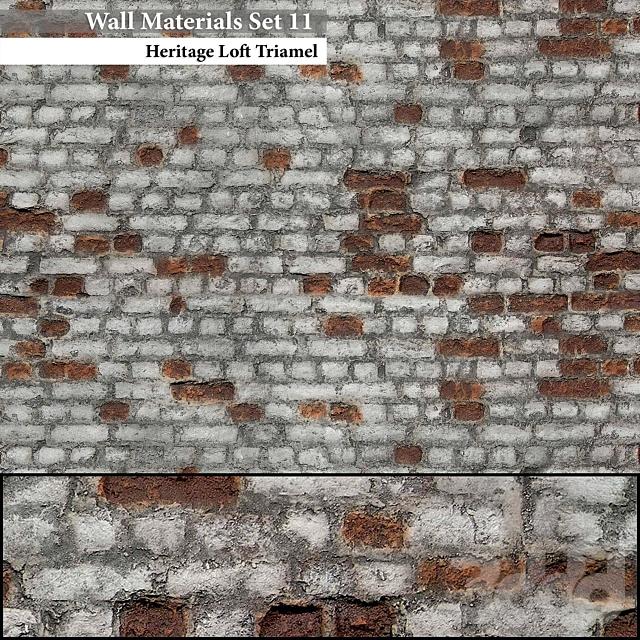 Wall Materials Set 11