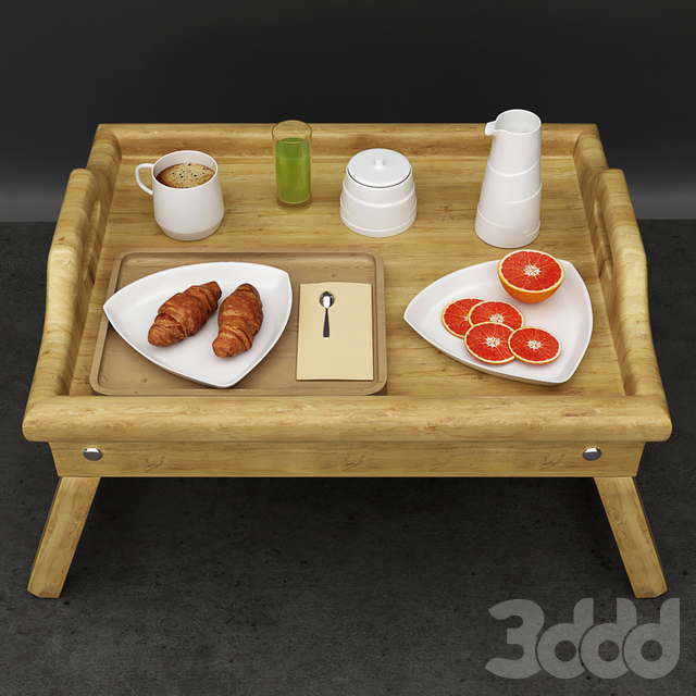 Breakfast coffee set