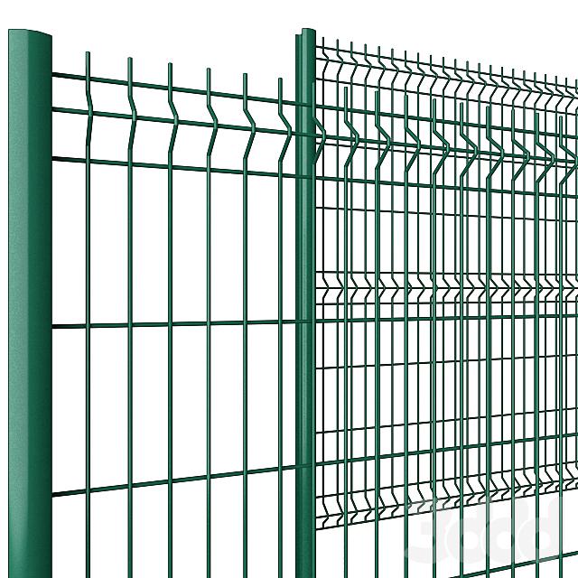 Забор для калитки