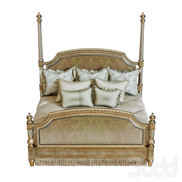 TRIANON COURT POSTER BED