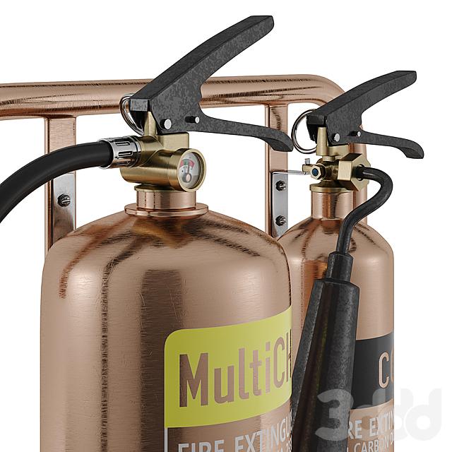 Огнетушитель на стойке Commanderfire Contempo Fire Extinguisher Stands