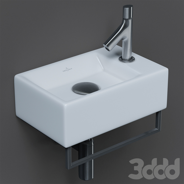 Villeroy&Boch MEMENTO sink and Jacob Delafon Oblo faucet