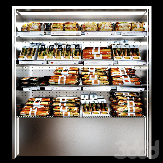 Shelves sandwiches and packed lunches_2