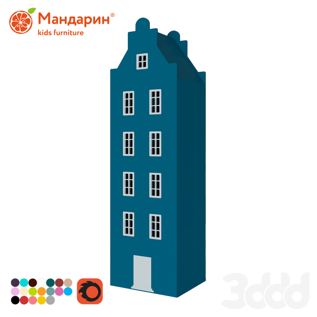 Шкаф-домик №7-XL