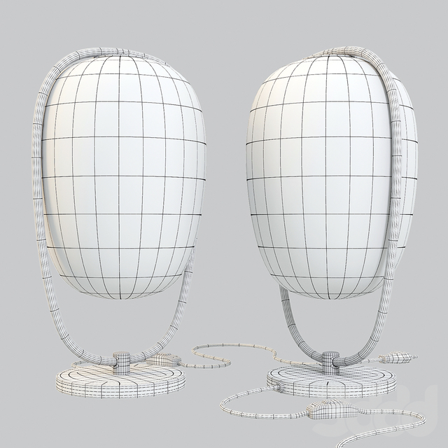 Kundalini: Table Lamp - Lanna