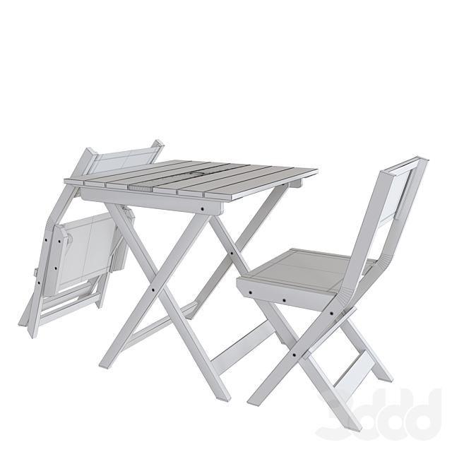 Portside Outdoor Folding Bistro Set