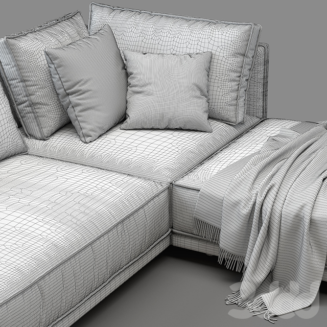 Cube Lounge sofa (v1)