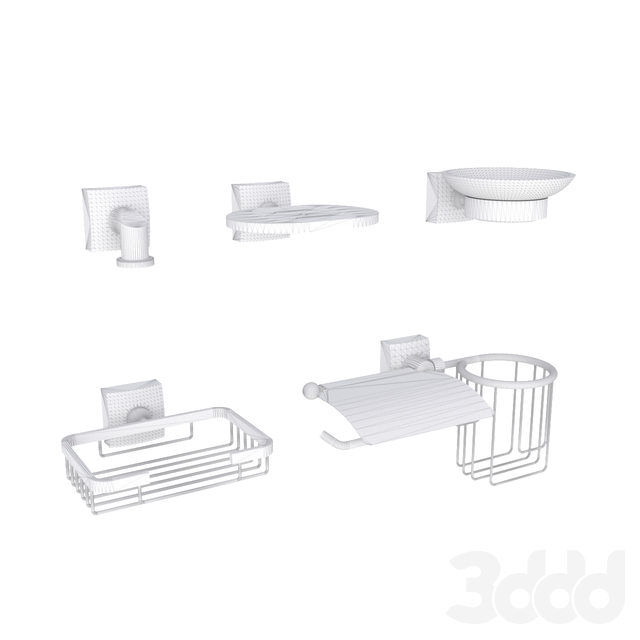 ОМ Аксессуары Fixsen Kvadro для ванной комнаты