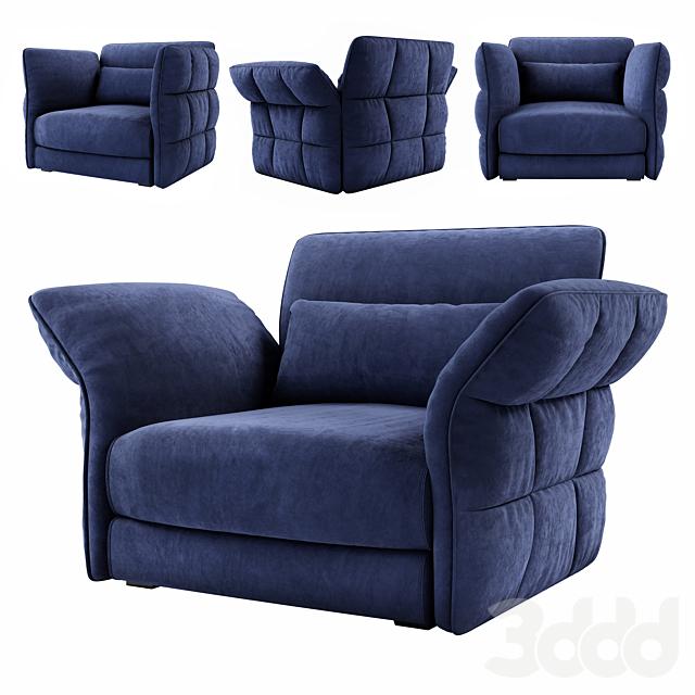 Cierre Eva Due armchair
