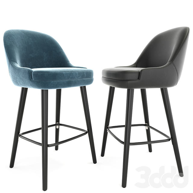 375 Walter Knoll Counter Stool