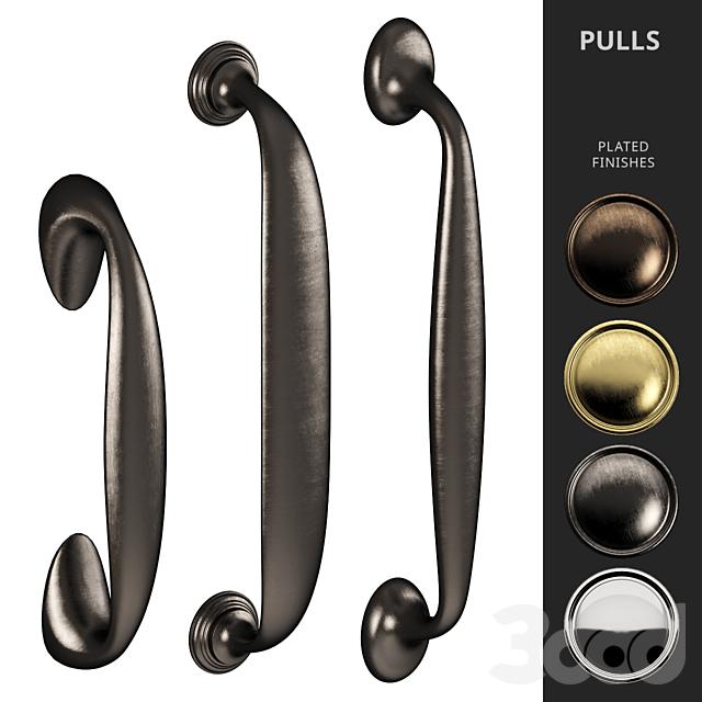 Door Pull Handles Nanz N° 6217, 6615, 6712