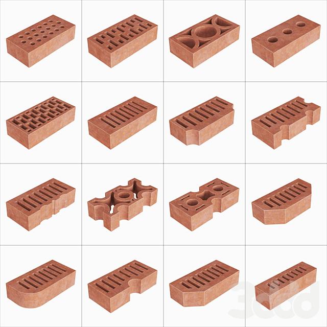 Building bricks / Строительный кирпич