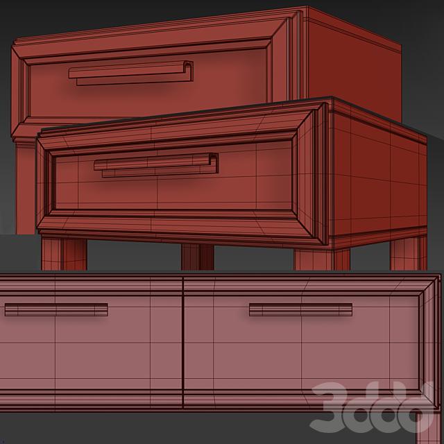 Комод/консоль и тумба Charlie.Dresser, nightstand