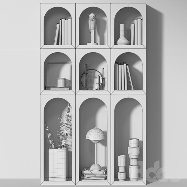 Книжный шкаф Bonaldo set 03