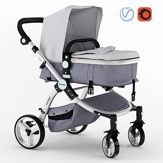 Детская коляска Mamago Platinum