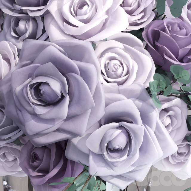 Lavender Europe Roses Bouquet