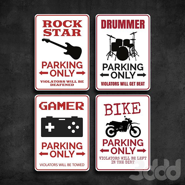 Metal Signs 37