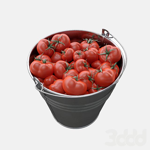 помидоры в ведре картинки всех вариантов
