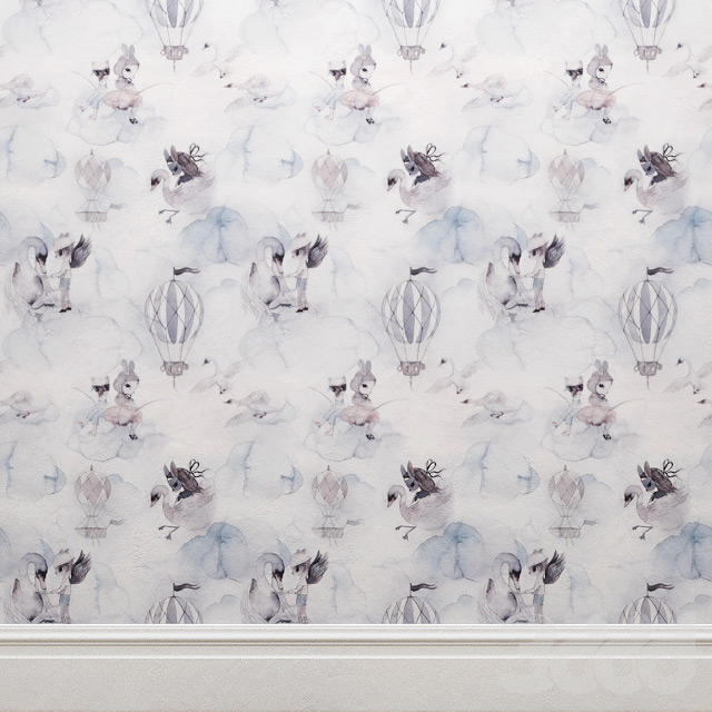 Wallpaper Mrs Mighetto and Jimmy Cricket Oh Cloud