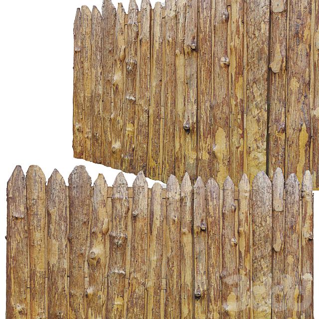 Wood_fence/ Старый забор_2