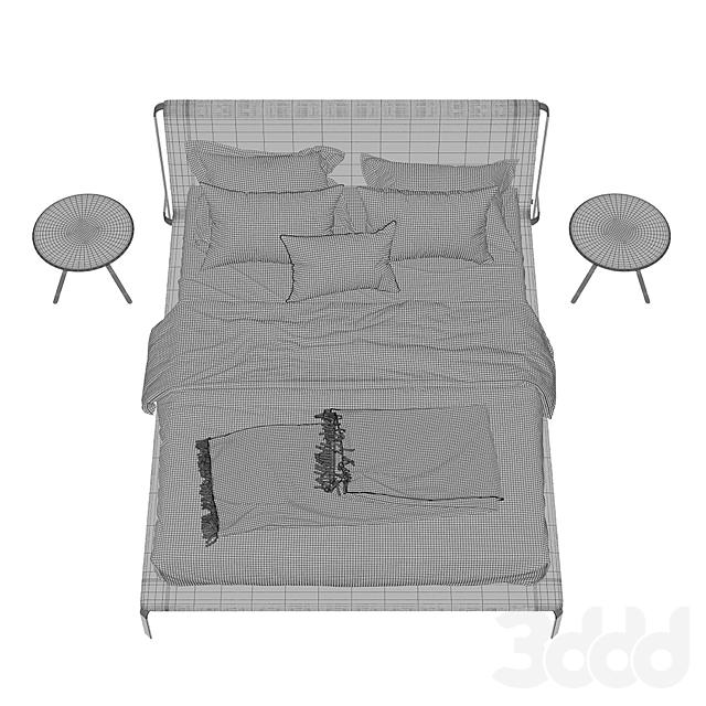 Bolzan letti  Bend Bed