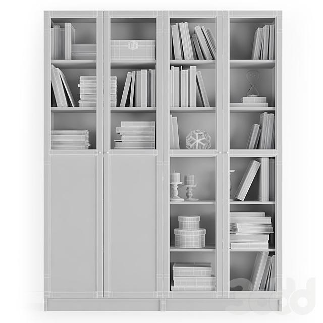 Стеллаж Билли / Оксберг Ikea.Комбинация-3